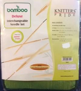 Deluxe Interchangeable Bamboo Needle Set