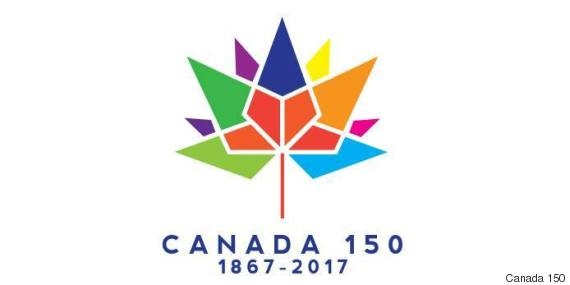 Official Canada 150 Anniversary Logo