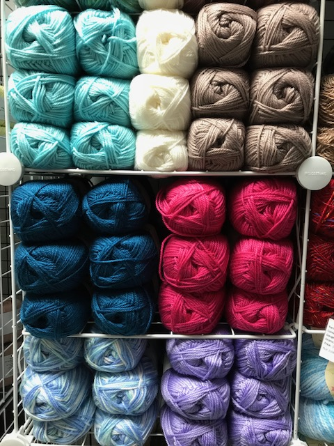 Some lovely Aran colours as well